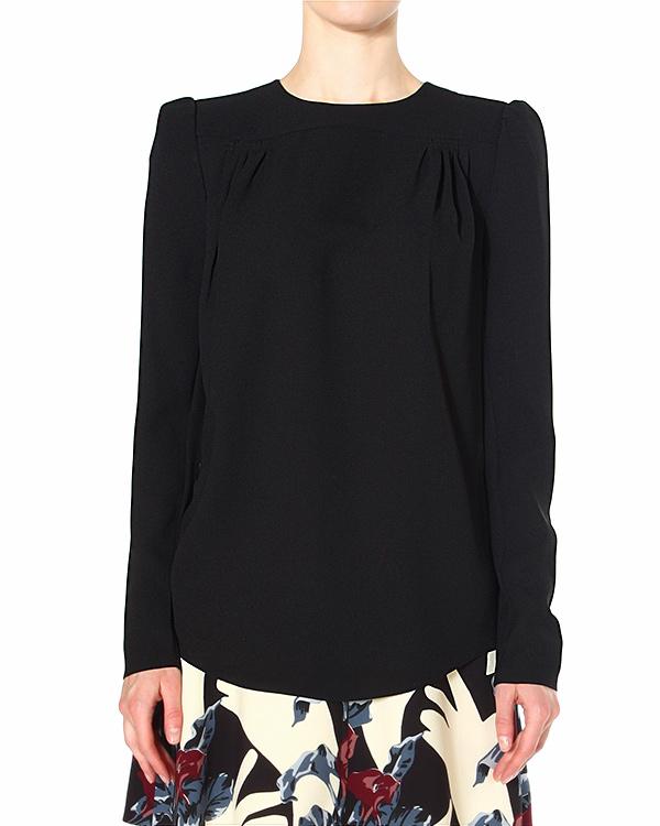 блуза стилизованное под ретро, с небольшими подплечниками артикул 455H41 марки Carven купить за 4500 руб.