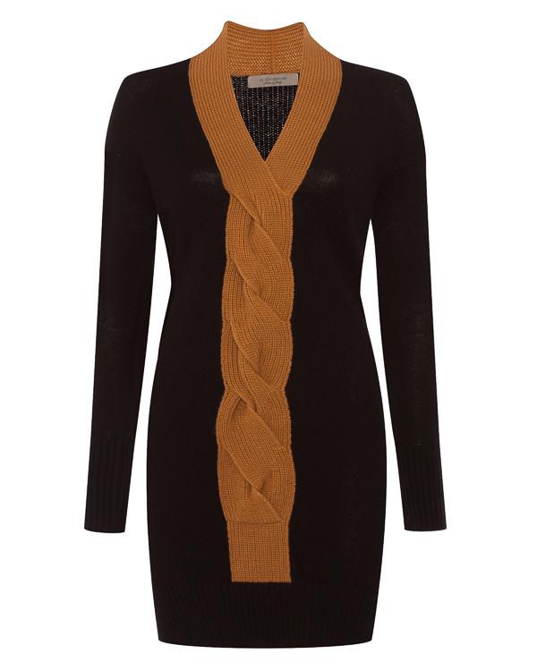 платье из шерсти, шелка и кашемира артикул 47203 марки D.EXTERIOR купить за 33600 руб.