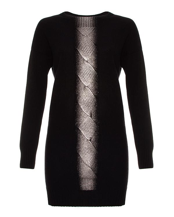 D.EXTERIOR -платье крупной вязки из шерсти и шелка артикул  марки D.EXTERIOR купить за 35600 руб.