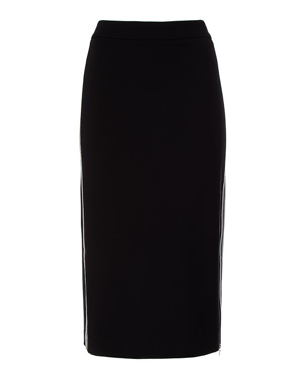 D.EXTERIOR миди из шерсти с лампасами артикул  марки D.EXTERIOR купить за 17000 руб.