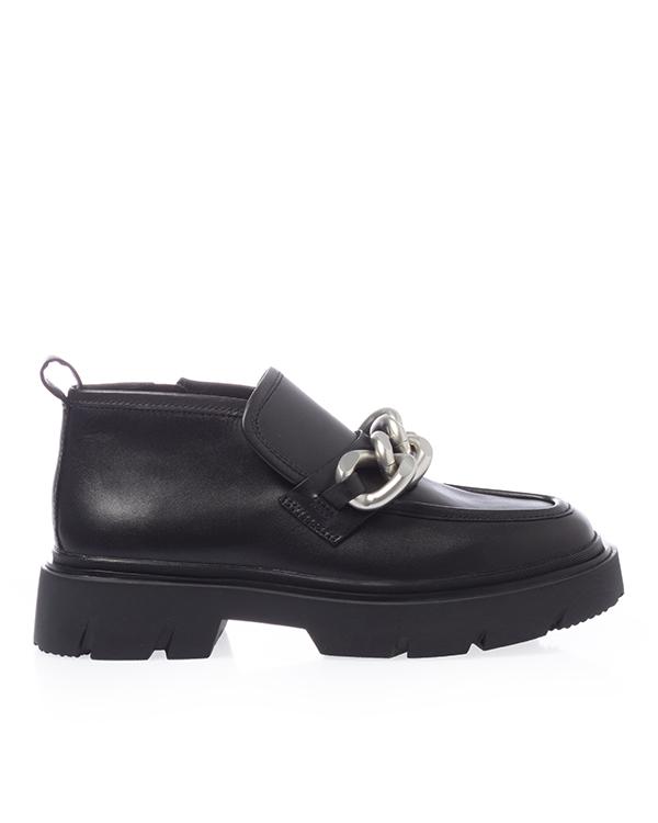 ботинки ASH 5AH.AH107132.K 38 черный+серебряный