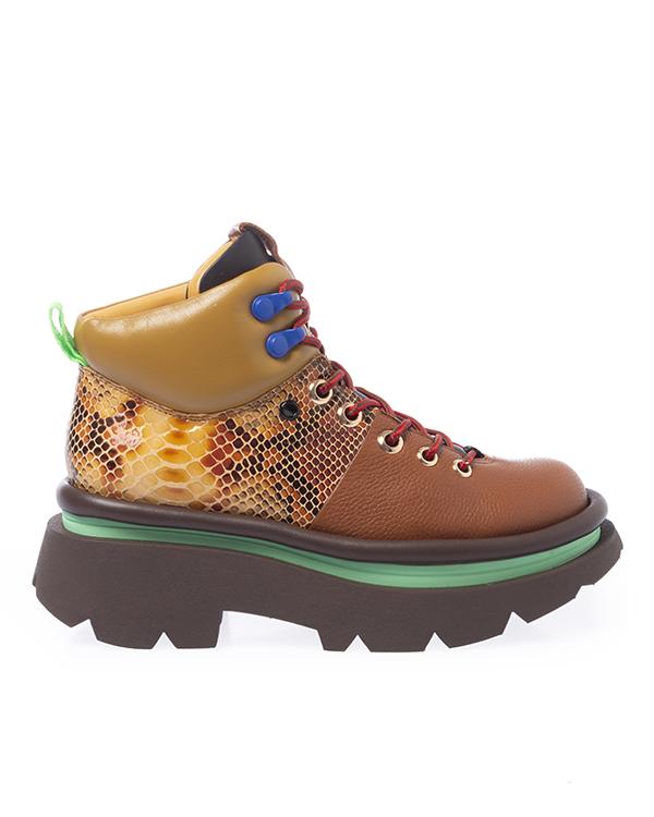 4CCCEES Crunch Hikers из комбинированной кожи  артикул  марки 4CCCEES купить за 31600 руб.