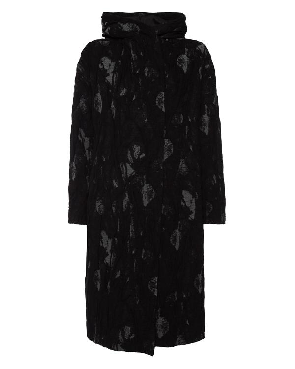 пальто прямого силуэта с капюшоном артикул 6304M марки MASNADA купить за 65500 руб.