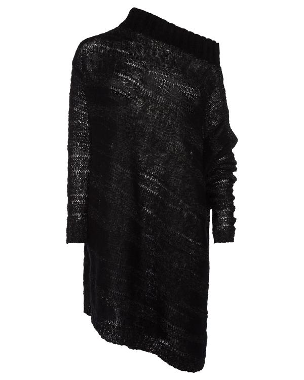 джемпер удлиненного силуэта из шерсти мохера артикул 63L01 марки MASNADA купить за 24200 руб.
