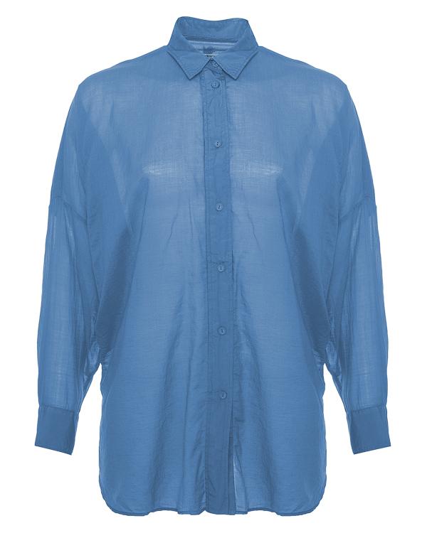 рубашка из хлопка свободного силуэта  артикул 65EU7504 марки European Culture купить за 11900 руб.