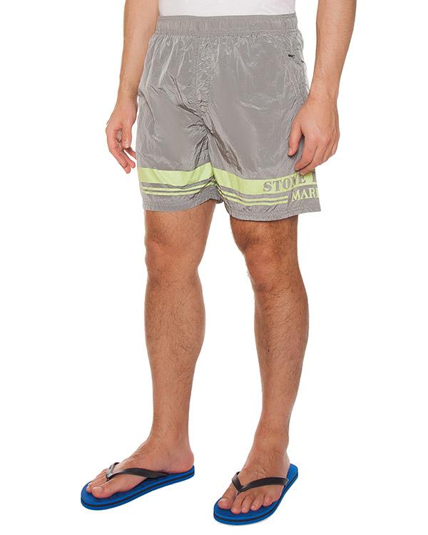 мужская шорты Stone Island, сезон: лето 2017. Купить за 6500 руб. | Фото $i