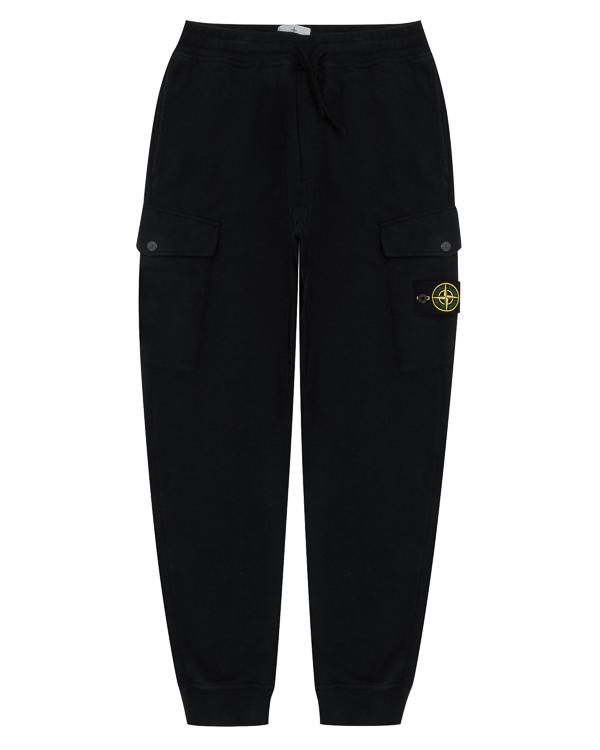 брюки спортивного кроя из хлопка  артикул 671561120 марки Stone Island купить за 11100 руб.