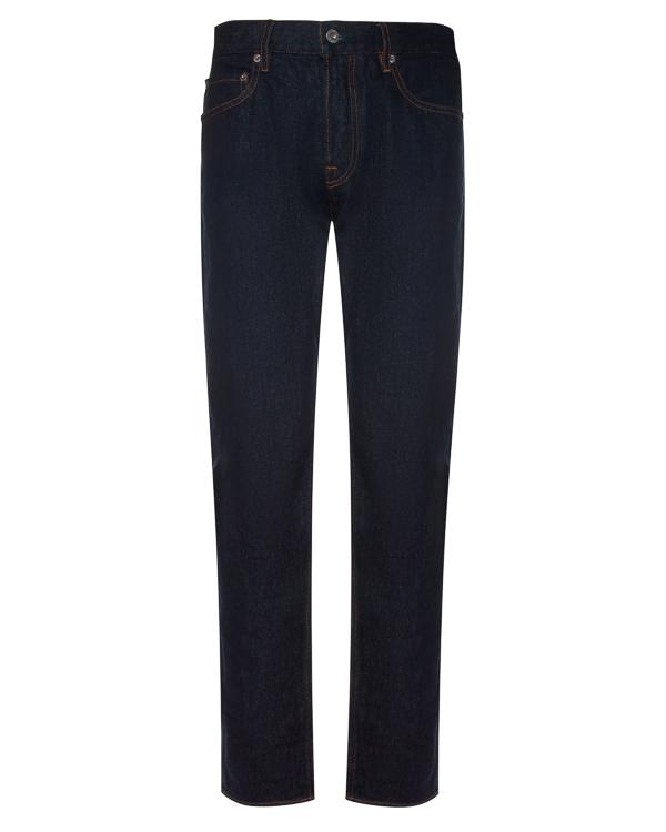 джинсы Slim с контрастной строчкой артикул 6715J4BI1 марки Stone Island купить за 7600 руб.