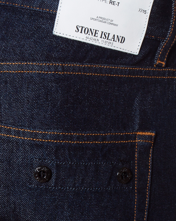 мужская джинсы Stone Island, сезон: зима 2017/18. Купить за 7600 руб.   Фото $i