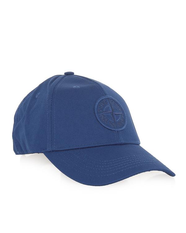 бейсболка с логотипом бренда  артикул 681599168 марки Stone Island купить за 4500 руб.