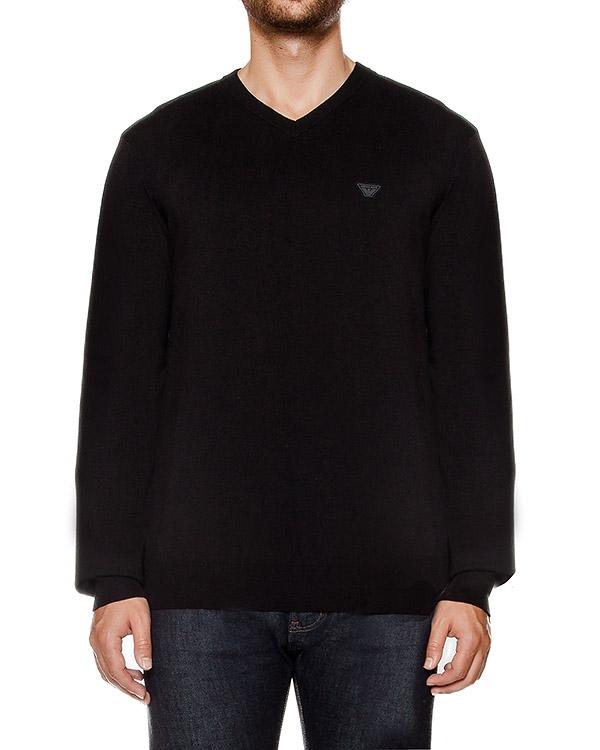 пуловер из мягкого трикотажа артикул 6X6MA4 марки ARMANI JEANS купить за 5300 руб.