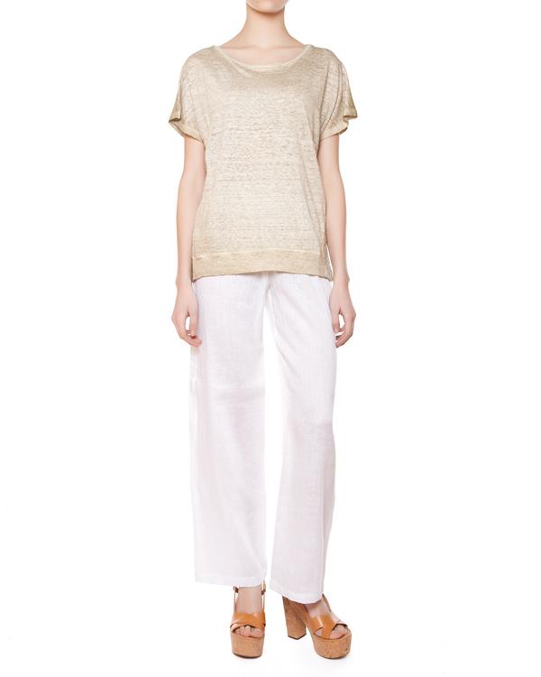 женская футболка 120% lino, сезон: лето 2015. Купить за 4200 руб. | Фото $i