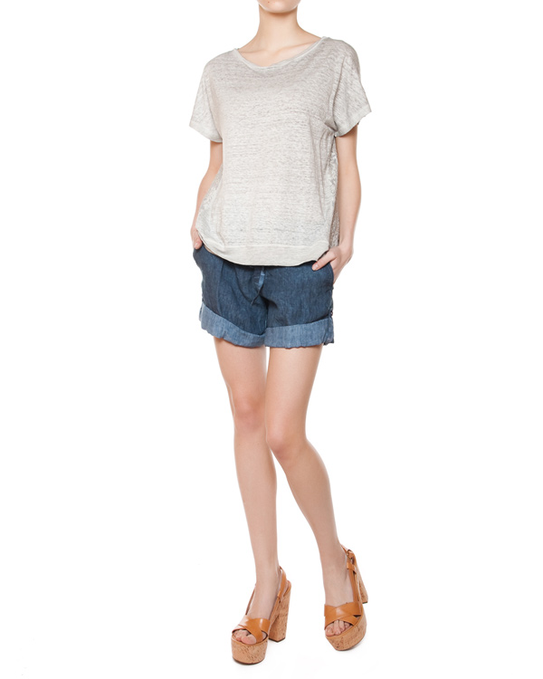женская футболка 120% lino, сезон: лето 2015. Купить за 4200 руб.   Фото $i