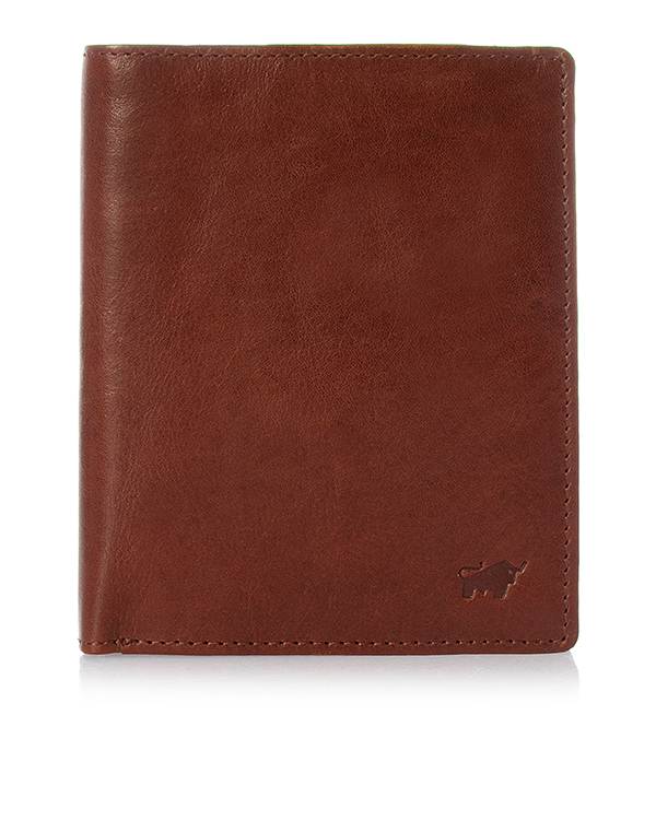 Braun Buffel из плотной кожи с тиснением логотипа бренда  артикул  марки Braun Buffel купить за 7490 руб.