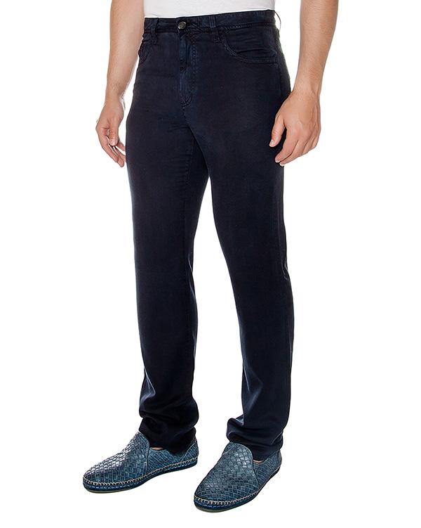 брюки прямого кроя из плотной эластичной ткани артикул 913601 марки Cortigiani купить за 12300 руб.