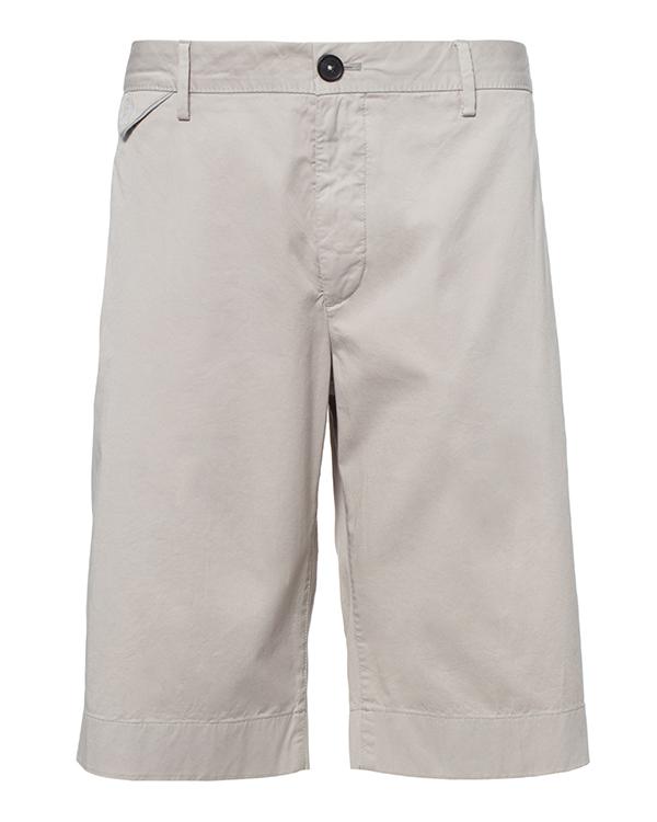 шорты прямого кроя из плотного хлопка артикул 913620 марки Cortigiani купить за 10300 руб.