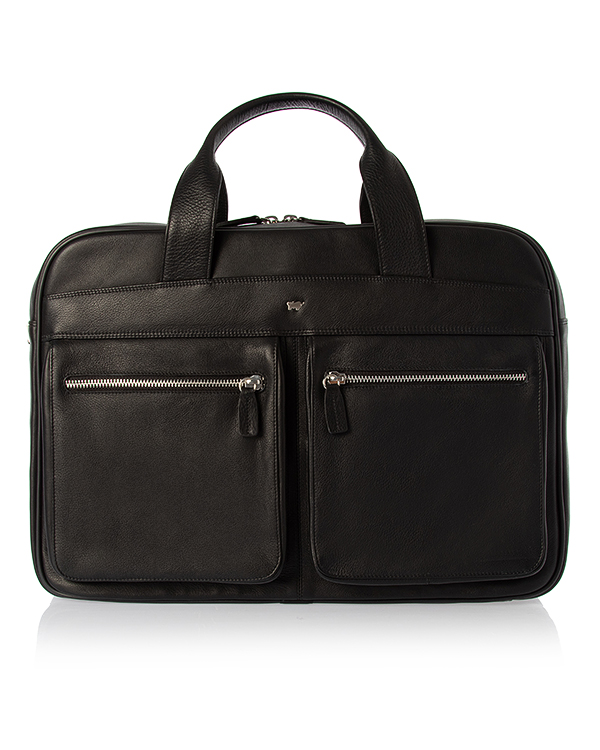 Braun Buffel -портфель из кожи  артикул  марки Braun Buffel купить за 38490 руб.
