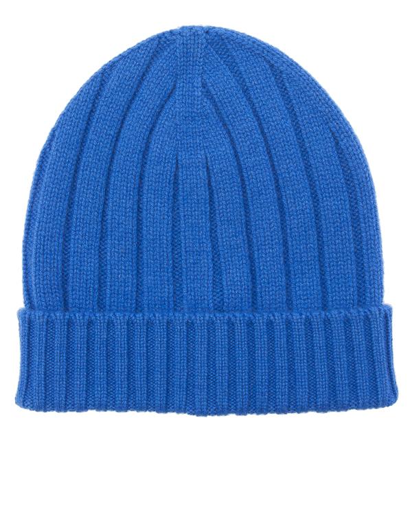 шапка из мягкого кашемира с отворотом артикул 979CAP046 марки Eleventy купить за 10800 руб.