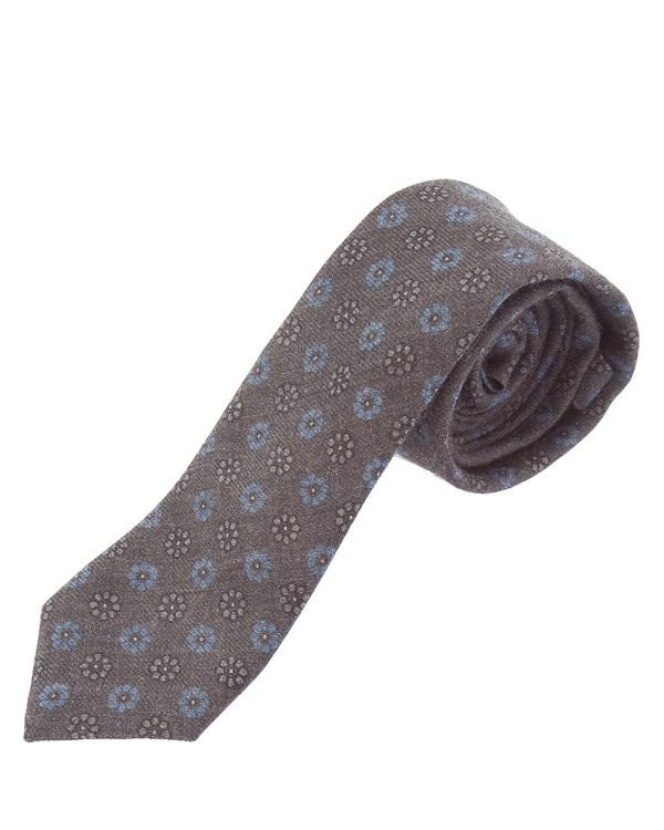 галстук в расслабленном стиле из шерсти  артикул 979CR0015 марки Eleventy купить за 8400 руб.