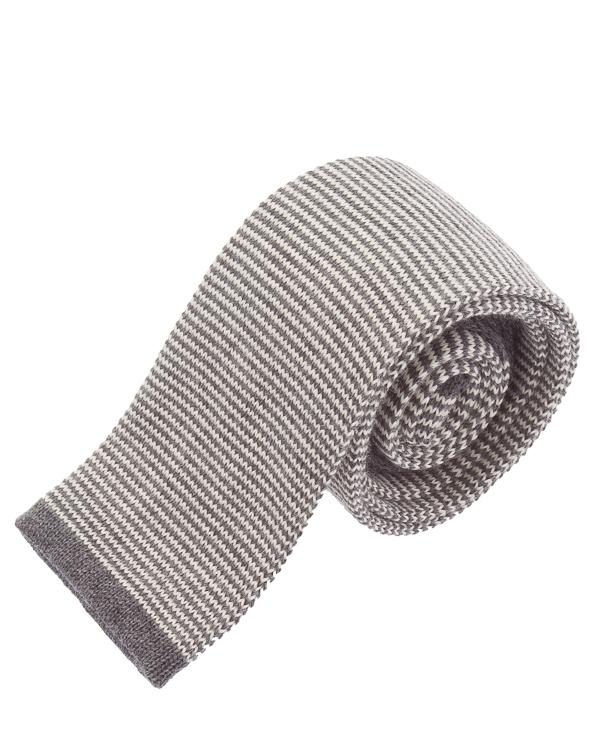 галстук в расслабленном стиле из шерсти  артикул 979CR0016 марки Eleventy купить за 5700 руб.
