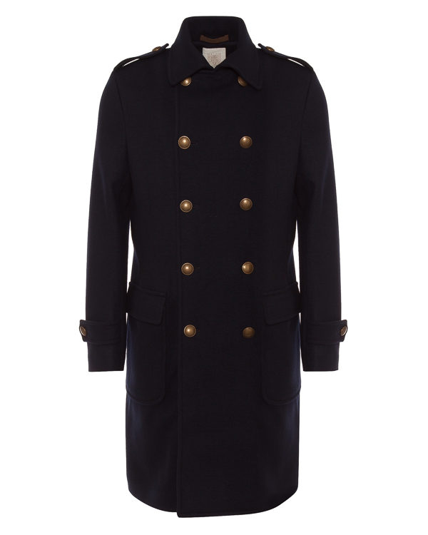 Eleventy пальто в стиле милитари артикул 979CS0141 марки Eleventy купить за 134900 руб.