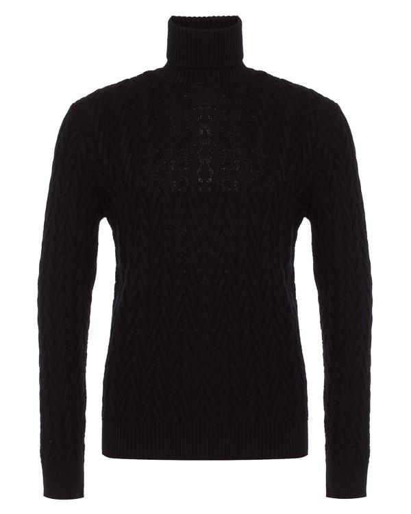 свитер узорной вязки из шерсти артикул 979MA3122 марки Eleventy купить за 27900 руб.