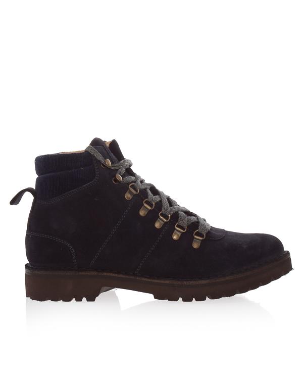 ботинки из замши на шнуровке  артикул 979SR0165 марки Eleventy купить за 27300 руб.
