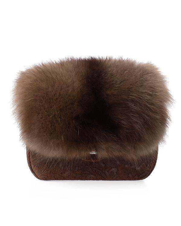 Kaminsky из замши и натурального меха соболя артикул  марки Kaminsky купить за 24500 руб.