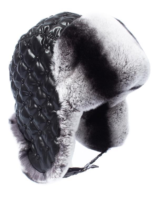 МКС ушанка с отделкой мехом кролика породы Рекс артикул  марки МКС купить за 6300 руб.