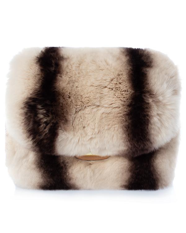 Kaminsky -клатч из меха кролика  артикул  марки Kaminsky купить за 10100 руб.