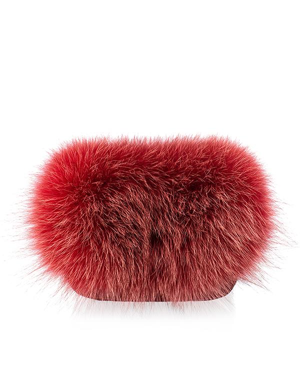 Kaminsky из стеганой кожи и натурального меха лисы артикул  марки Kaminsky купить за 9600 руб.
