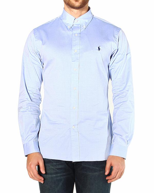 рубашка приталенная, с логотипом бренда на спине артикул A02WSFBK марки Polo by Ralph Lauren купить за 3600 руб.