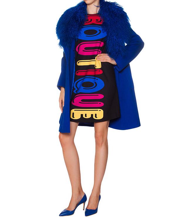 женская пальто Moschino Boutique, сезон: зима 2015/16. Купить за 33800 руб. | Фото 2