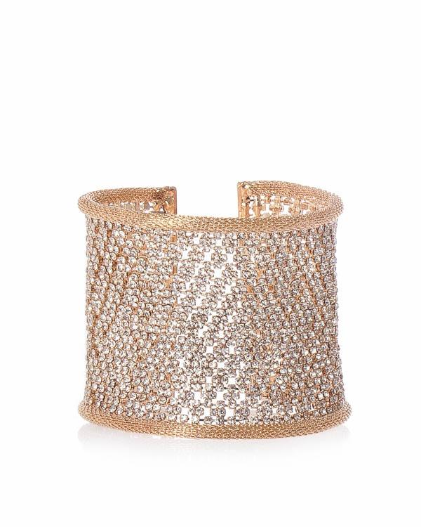 браслет из ювелирного сплава с отделкой кристаллами Swarovski  артикул A1M марки Marina Fossati купить за 9900 руб.