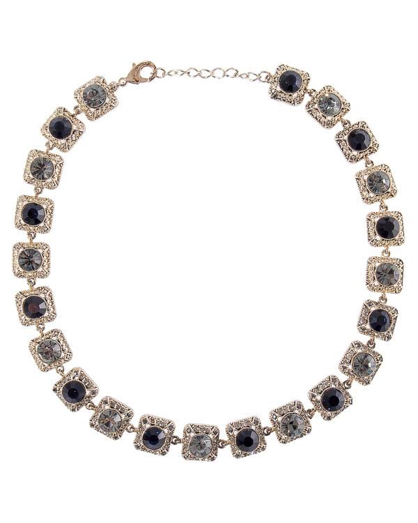 ожерелье из ювелирного сплава с отделкой кристаллами Swarovski  артикул A3MF17 марки Marina Fossati купить за 6300 руб.