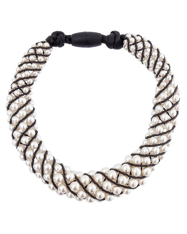 ожерелье из декоративного жемчуга и бисера артикул A8M марки Marina Fossati купить за 15300 руб.
