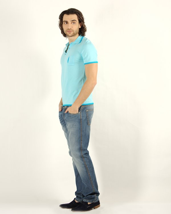 мужская поло Fabrizio Del Carlo, сезон: лето 2012. Купить за 5200 руб. | Фото $i