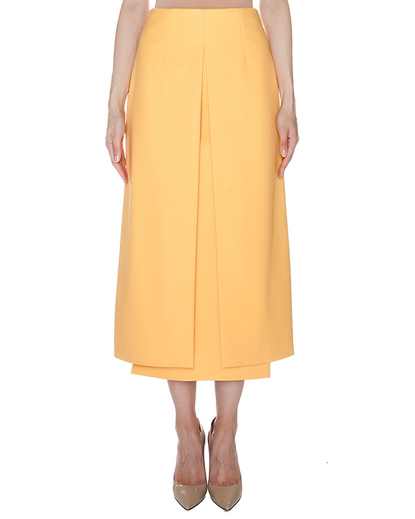 юбка макси из плотного трикотажа артикул AASS16SK05 марки AALTO купить за 14700 руб.
