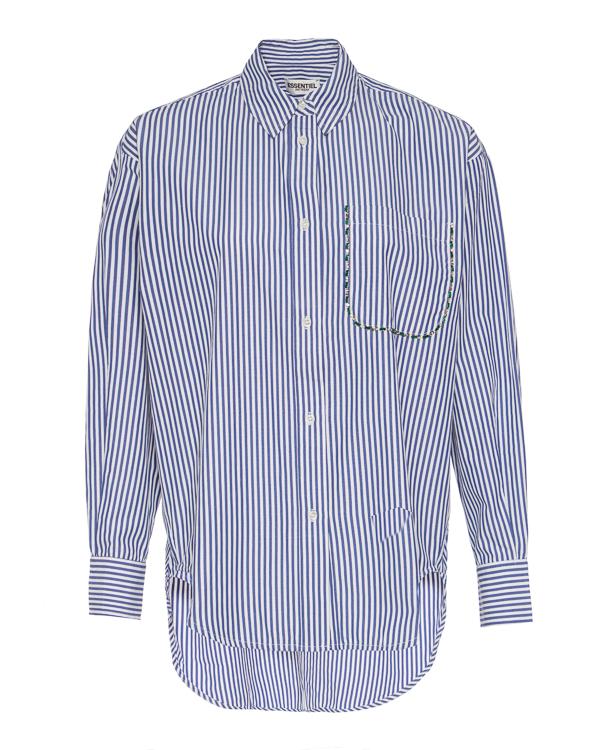 рубашка Essentiel AKITA1 s синий+белый0
