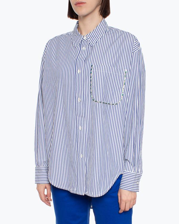 рубашка Essentiel AKITA1 s синий+белый2