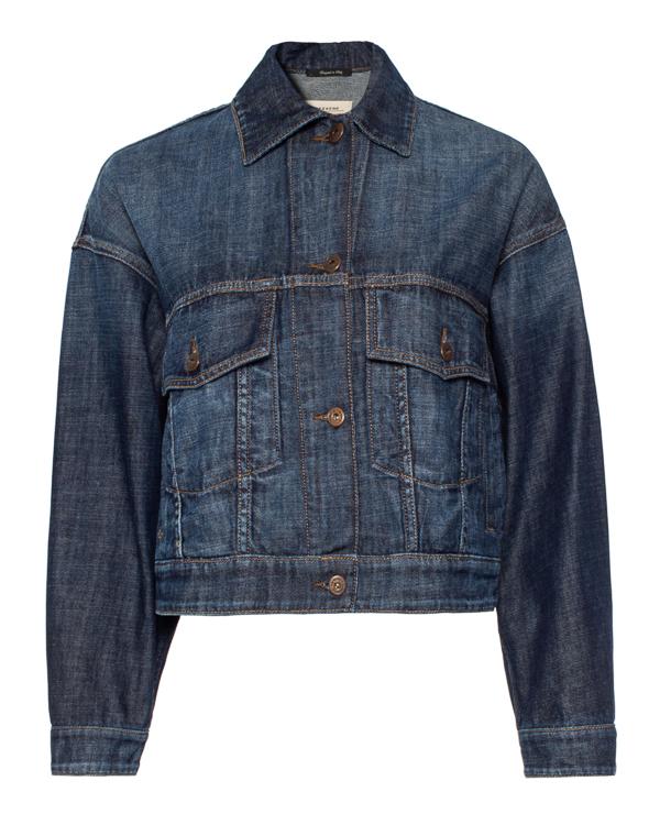 MaxMara Weekend -джинсовка укороченного силуэта  артикул  марки MaxMara_Weekend купить за 32900 руб.