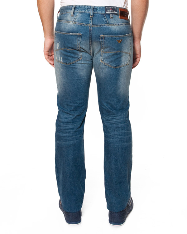 мужская джинсы ARMANI JEANS, сезон: лето 2015. Купить за 7200 руб. | Фото $i