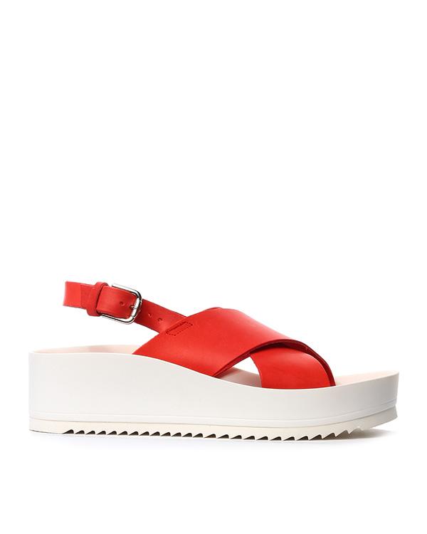 сандалии из натуральной кожи артикул ARNSHOE070028 марки P.A.R.O.S.H. купить за 8100 руб.