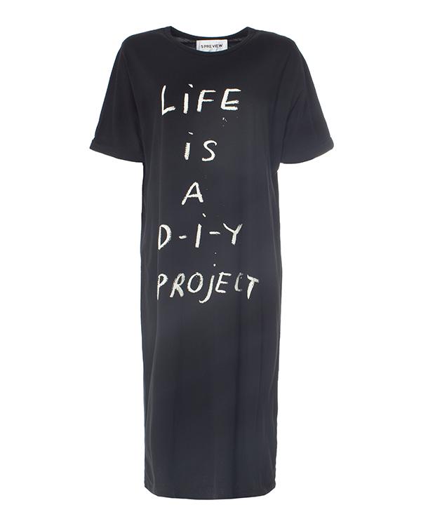 5Preview -футболка расслабленного кроя  артикул  марки 5Preview купить за 6200 руб.