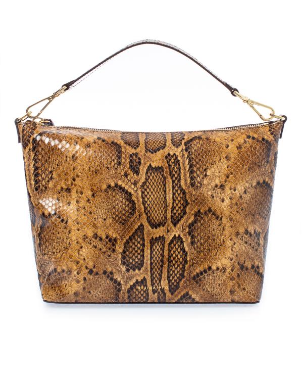 Rejina Pyo из кожи с фактурой под рептилию  артикул  марки Rejina Pyo купить за 60500 руб.