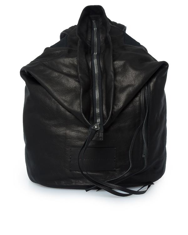 рюкзак торба из мягкой кожи артикул BA09F17 марки Isabel Benenato купить за 43400 руб.