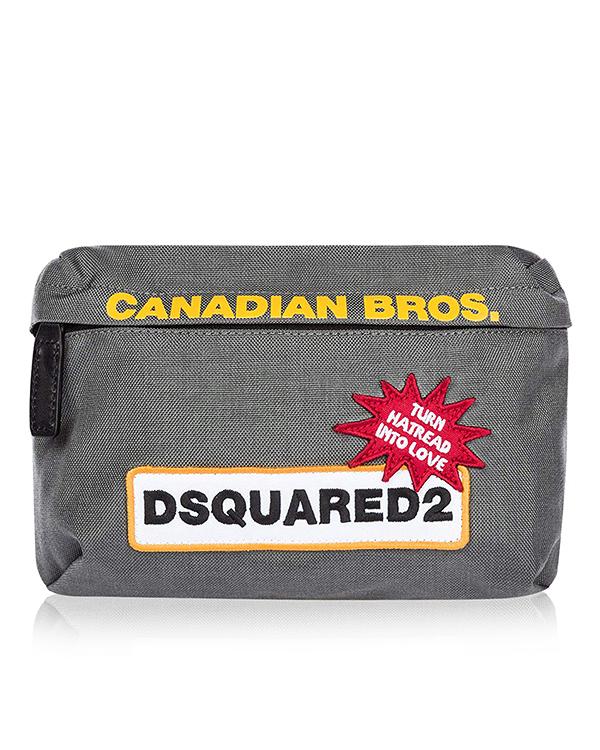 DSQUARED2 из плотного нейлона с вышивкой артикул  марки DSQUARED2 купить за 10100 руб.