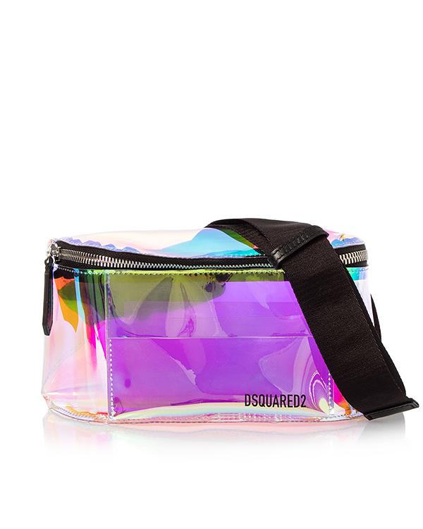 DSQUARED2 на пояс из разноцветного винила артикул  марки DSQUARED2 купить за 32800 руб.