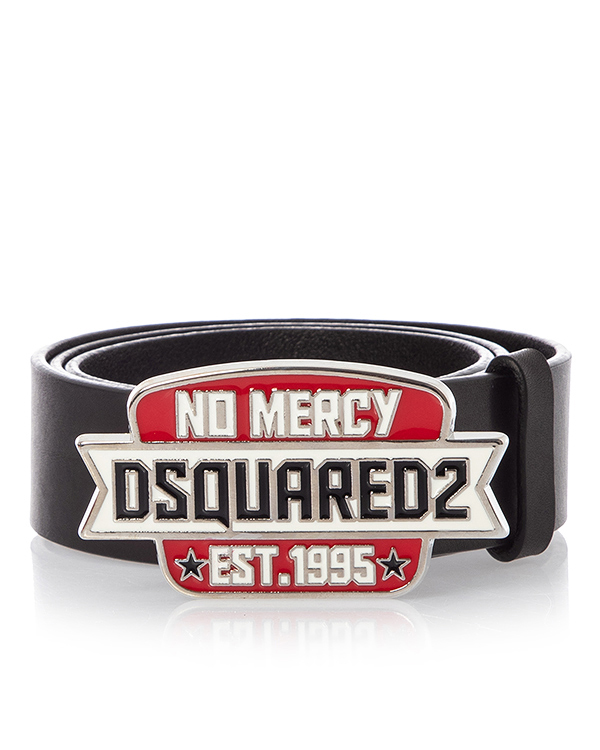 DSQUARED2 из плотной матовой кожи  артикул  марки DSQUARED2 купить за 9500 руб.