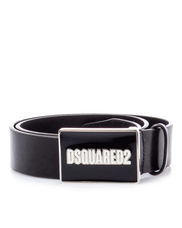 DSQUARED2 из кожи с металлической пряжкой  артикул  марки DSQUARED2 купить за 26900 руб.